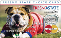 Fresno State Choice Card