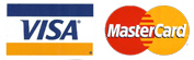 Visa and Master Card are accepted at Cashiering Services