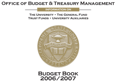 Office of the budget and Treasury Management - Budget Book 2006-2007 introduction picture