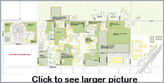 Existing Building Development Area layout - Click to view full-size graphic.