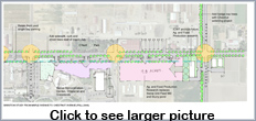 existing Barstow Avenue Parking II. Click to view full-size graphic.