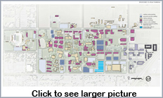Thumbnail for proposed Campus Parking layout. Click to view full-size graphic.