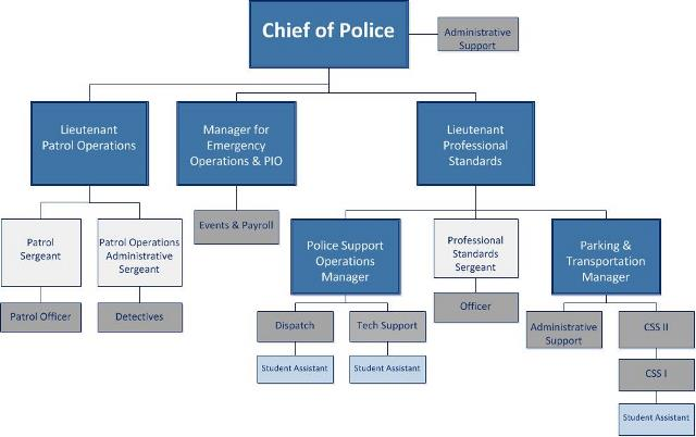 Police Department Org Chart