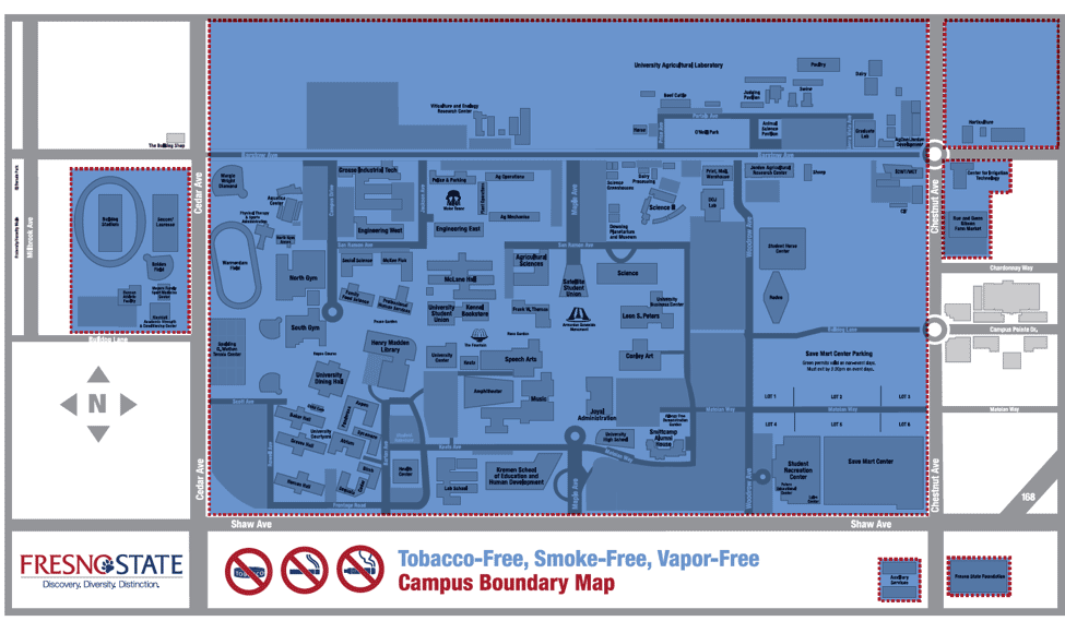 Tobacco-smoke-vapor-free areas
